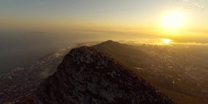 Aerial Cape Town, South Africa, by Phantom 2